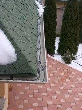 Csatornafűtés elektromos fűtőkábelekkel